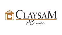 CLAYSAM HOMES - HOLMES APPROVED HOMES LOGO