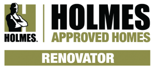Holmes Approved Homes Renovator Logo PNG