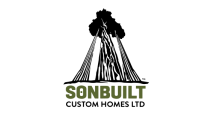 SONBUILT CUSTOM HOMES - HOLMES APPROVED HOMES LOGO