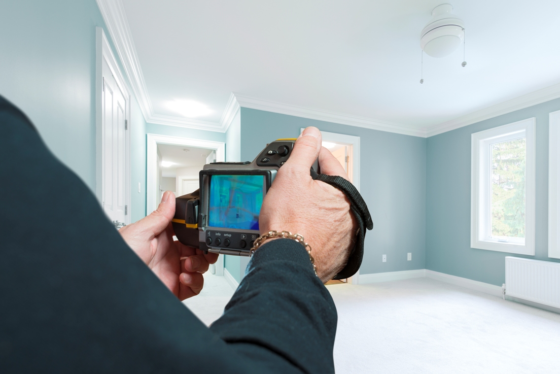 Inspections – A Vital Part of Your New Home Build - Thermal Cam - Holmes Approved Homes - Miller Contracting