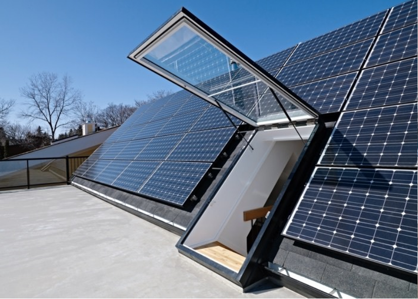 Net Zero Homes Solar Powered