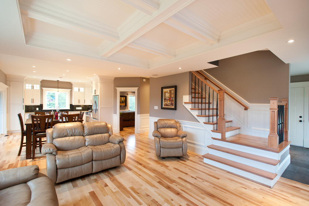 PRECISION CUSTOM HOMES - LIVING ROOM